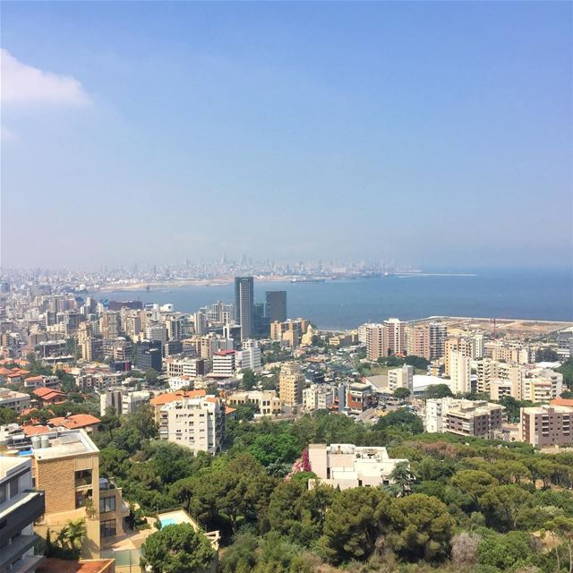 I will terribly miss this stunning view! What an amazing few weeks this... (Beirut, Lebanon)